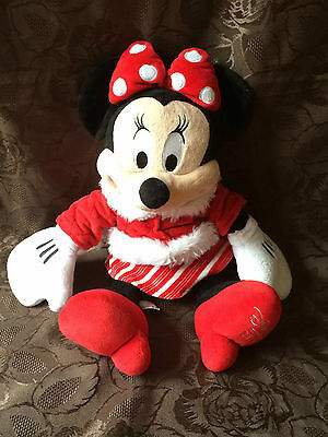 """Disney Store Minnie Mouse 2010 ~ Soft Toy ~ Rare ~ Approx 18"""""""