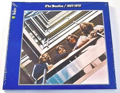 The Beatles - Blue Album 1967 -1970  2 CD Best Of /Greatest Hits Remastered 2009