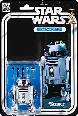 New Star Wars 40th Anniversary Black Series 6 Inch Action Figure Wave 1 R2-D2