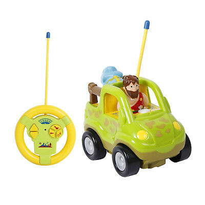 TONOR Race Car Tractor Remote Control Police Car Toy for Toddlers and Kids