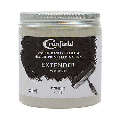 Cranfield Water Based Relief Ink 250ml Transparent Extender