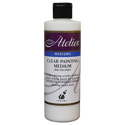 Atelier : Acrylic Medium : 250ml : Clear Painting Medium