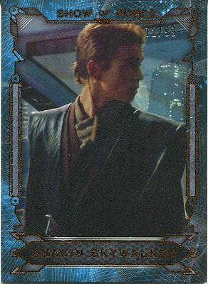 Star Wars Masterwork 2016 Show Of Force Canvas Chase Card SF-7