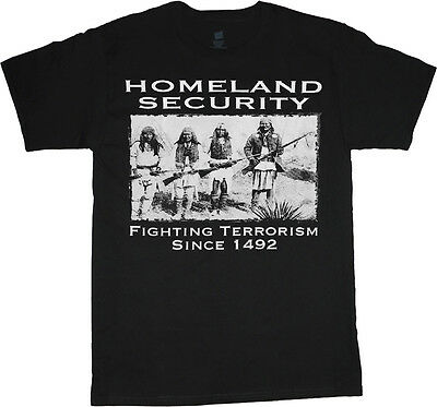 Big men's t-shirt Homeland Security funny tee plus size big tall 4X 5X 6X 7X 10X