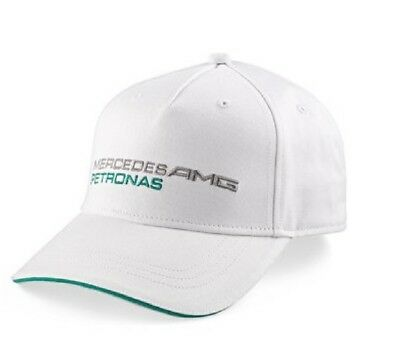 CAP 56-200 Formula One 1 Mercedes Petronas F1 Team Hamilton Rosberg White NEW!