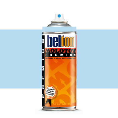 Molotow : Belton Premium Spray Paint : 400ml : Azure Blue 090 : By Road Parcel O