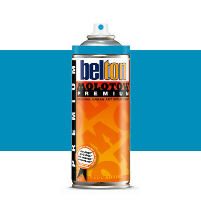 Molotow : Belton Premium Spray Paint : 400ml : Soten Light Blue 098 : By Road Pa
