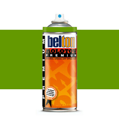 Molotow : Belton Premium Spray Paint : 400ml : Avocado 163 : By Road Parcel Only