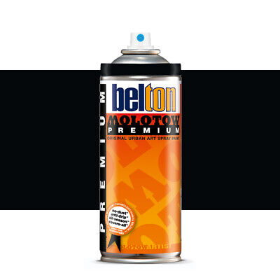 Molotow : Belton Premium Spray Paint : 400ml : Toast Signal Black 214 : By Road