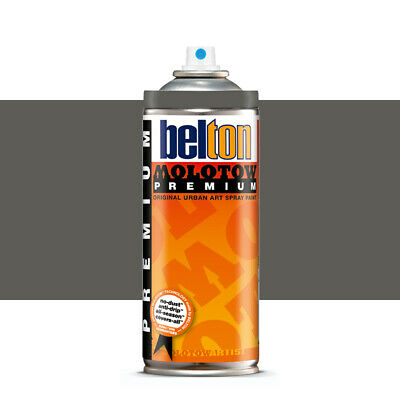 Molotow : Belton Premium Spray Paint : 400ml : Dark Grey Neutral 216