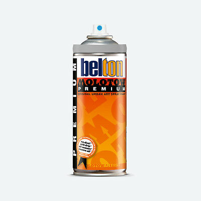 Molotow : Belton Premium Spray Paint : 400ml : Silver Dollar 220 : By Road Parce