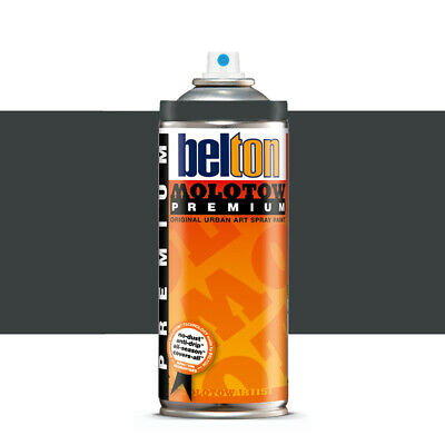 Molotow : Belton Premium Spray Paint : 400ml : Anthracite Grey 223 : By Road Par