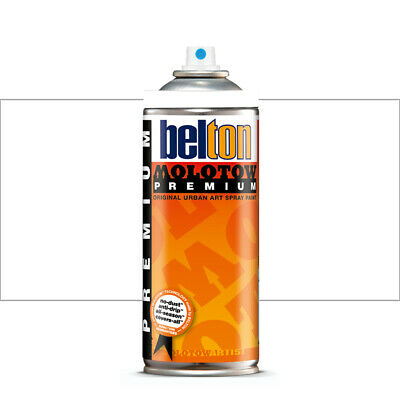 Molotow : Belton Premium Spray Paint : 400ml : Signal White 231 : By Road Parcel