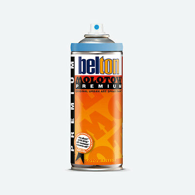 Molotow : Belton Premium Spray Paint : 400ml : Shock Blue Transparent 243