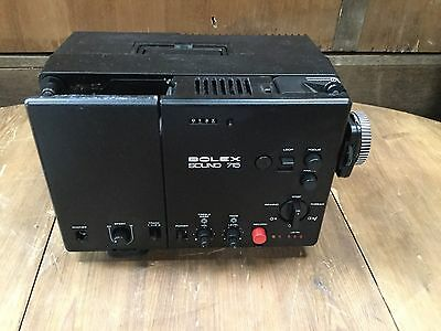 Bolex 715 Sound Super 8 Cine Film Projector #522