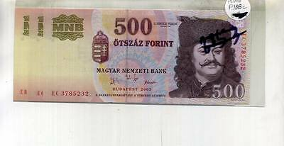 Hungary 500 Forint 2003 Currency Note Cu