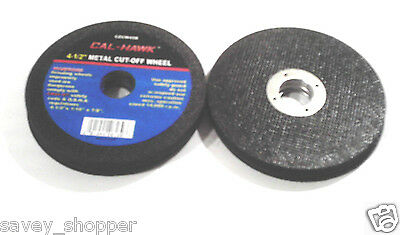 "Lot Of 50-4 1/2"" Diameter  X 1/16"" Thick  X 7/8"" Arbor Cut Off Wheel Disc"