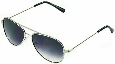 Boy Girl Pilot Aviator KIDS Sunglasses Mirrored Party Lunette SilverFrame Enfant