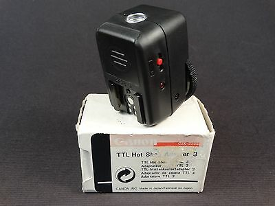 NEW CANON TTL Hot Shoe Adapter 3 (HSA-3) - For up to 4 Off Camera Speedlites