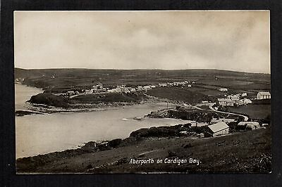 Aberporth on Cardigan Bay - real photographic postcard