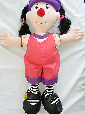 Big Comfy Couch Loonette The Clown Plush Doll 20""