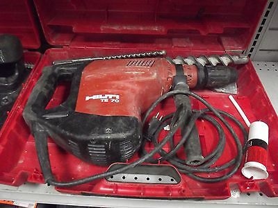 HILTI TE 70-ATC AVR Rotary Hammer Drill SDS with carry case