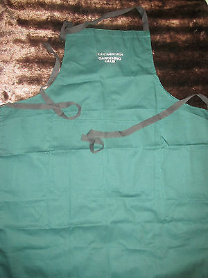 Garden Apron - Bbc Radio Leeds - Forest Green - Mint Condition  Promotional Item