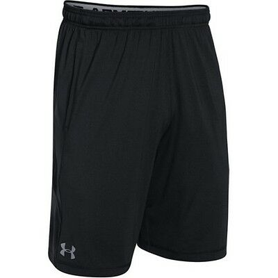 "Under Armour 1253527 Men's Black UA Raid 10"" Inseam Shorts - Size 3X-Large"