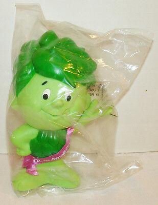 Green Giant Little Sprout Vinyl Advertising Doll Ad Figure Mascot Mint Sealed