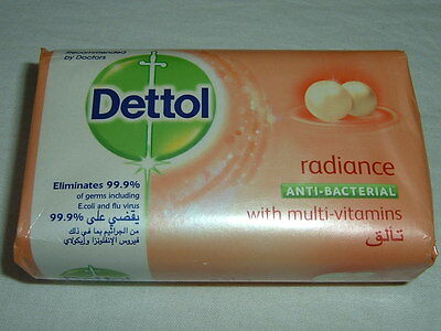 Dettol Radiance Anti-Bacterial Bar Soap 165g