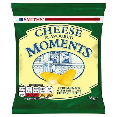 Smiths Cheese Moments Snacks Card 24 x 28g