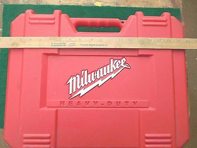 MILWAUKEE   Sawzall CASE 10-20 6525 ONLY....... FROM 6514-21 TOOL