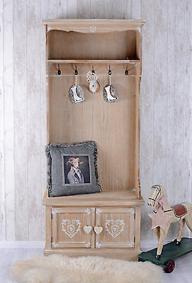Cabin Fever Wardrobe & Shoe Cabinet Valet Stand Hallway Cupboard Country House