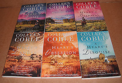 A Journey of the Heart Vol. 1,2,3,4,5,6 by Colleen Coble Paperback NEW