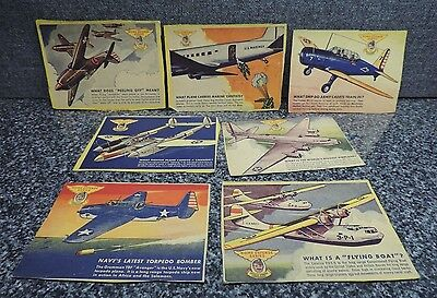 Captain Sparks Commander Home Defense Series Military Cereal Card Lot 1940's