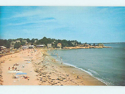 Unused Pre-1980 POINT O' WOODS BEACH South Lyme Connecticut CT M6925-12
