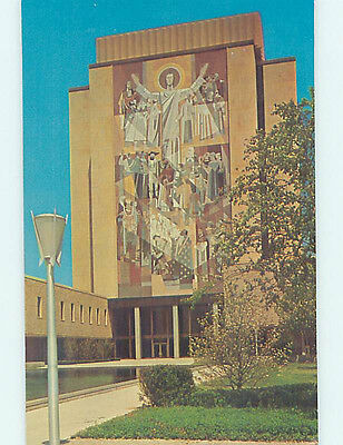 Unused Pre-1980 LIBRARY AT NOTRE DAME UNIVERSITY South Bend Indiana IN L7091