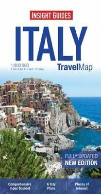 Insight Travel Map: Italy 9781780054810 (Sheet map, 2013)