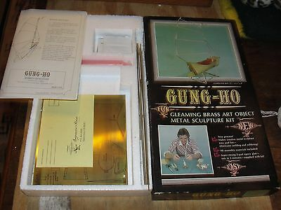 Vintage Impressions in Brass Gung-Ho Metal Sailing Ship Model Metal Kit NOS 1975