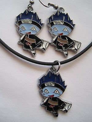 Naruto Shippuden Anime Manga Earring & Necklace Set (BUYER'S CHOICE OF 1 SET!)