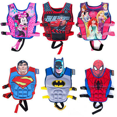 Cartoon Youth Children Child Adjustable Life Jacket Swimming Vest Kids Swiming
