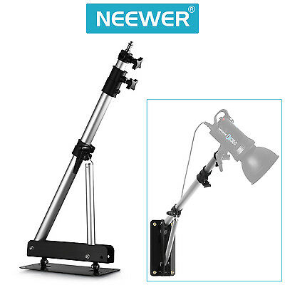 Neewer Heavy Duty Wall Mounting Boom Arm for Photography Studio Video-Silver