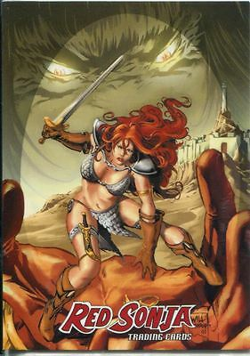 Breygent Red Sonja 3D Lenticular Chase Card RS2