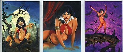 Vampirella 2011 Complete Best Of Jusko Chase Card Set VJ-1-3