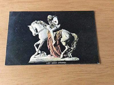 "Vintage ""COVENTRY"" Postcard - Sculpture of ""LADY GODIVA"""