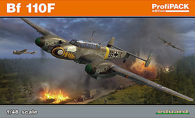 EDUARD 8207 WWII German Messerschmitt Bf110F in 1:48 ProfiPACK!!