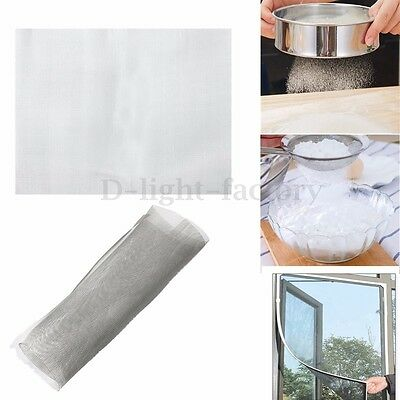 20 Mesh Stainless Steel Woven Wire Mesh Filter Grading Sheet Cage Range of Size