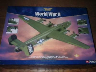 Corgi Aviation Archive Aa34004 1:72 Consolidated B-24D Sky Witch Mint Aircraft