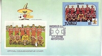 Tuvalu - Special Events, Views, & Anniversaries (3no. FDC's) 1979-86