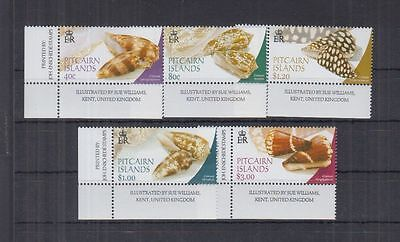 L392. Pitcairn Island - MNH - Nature - Shells - 628/32